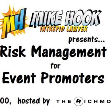 Risk Management for Event Promoters